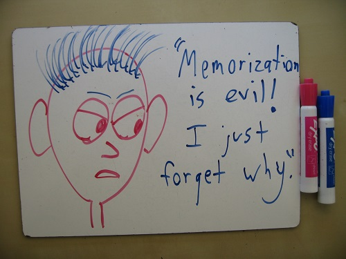 Is Memorization Necessary, Evil, or Both? | Math with Bad Drawings