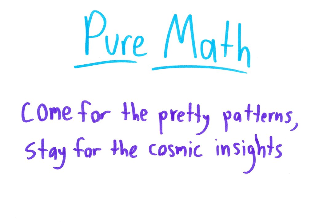 Why Do We Pay Pure Mathematicians? – Math with Bad Drawings