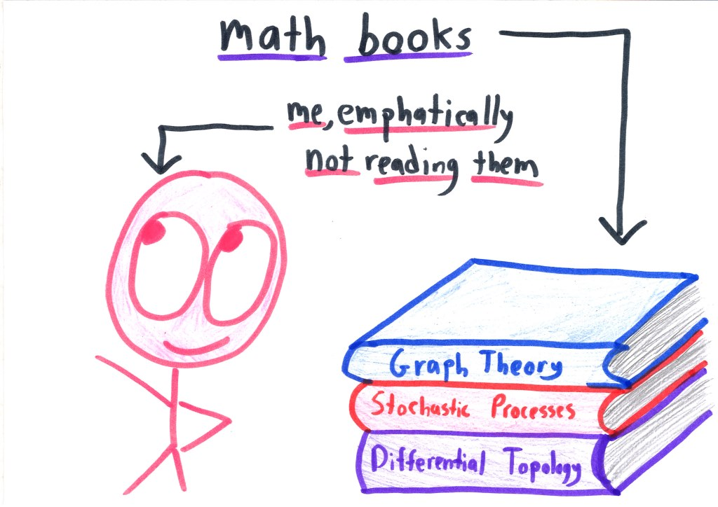 Which college major is easy for people who are good at math but terrible at writing?