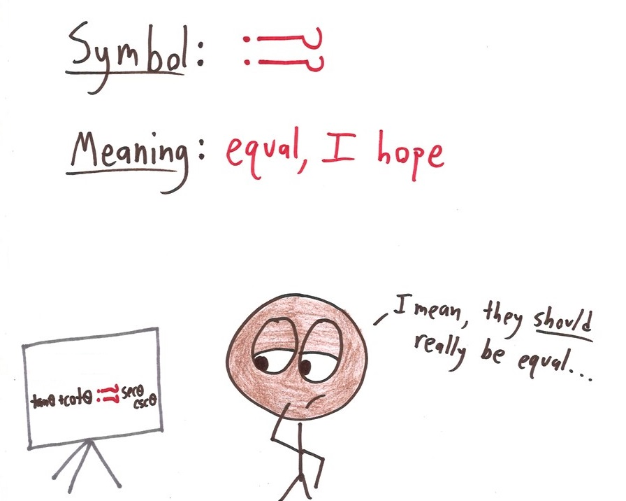 Symbols That Math Urgently Needs To Adopt Math With Bad Drawings