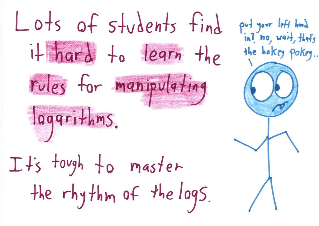 How do you master the rhythm of the logs? | Math with Bad Drawings