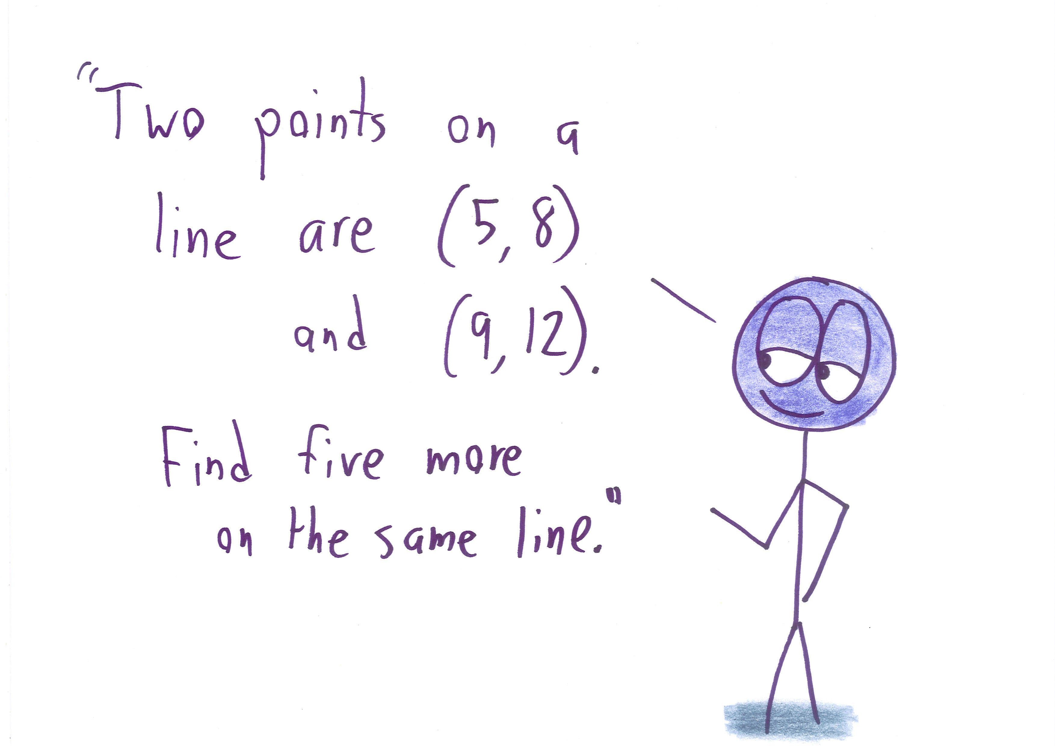 Lines Beyond y = mx + b | Math with Bad Drawings