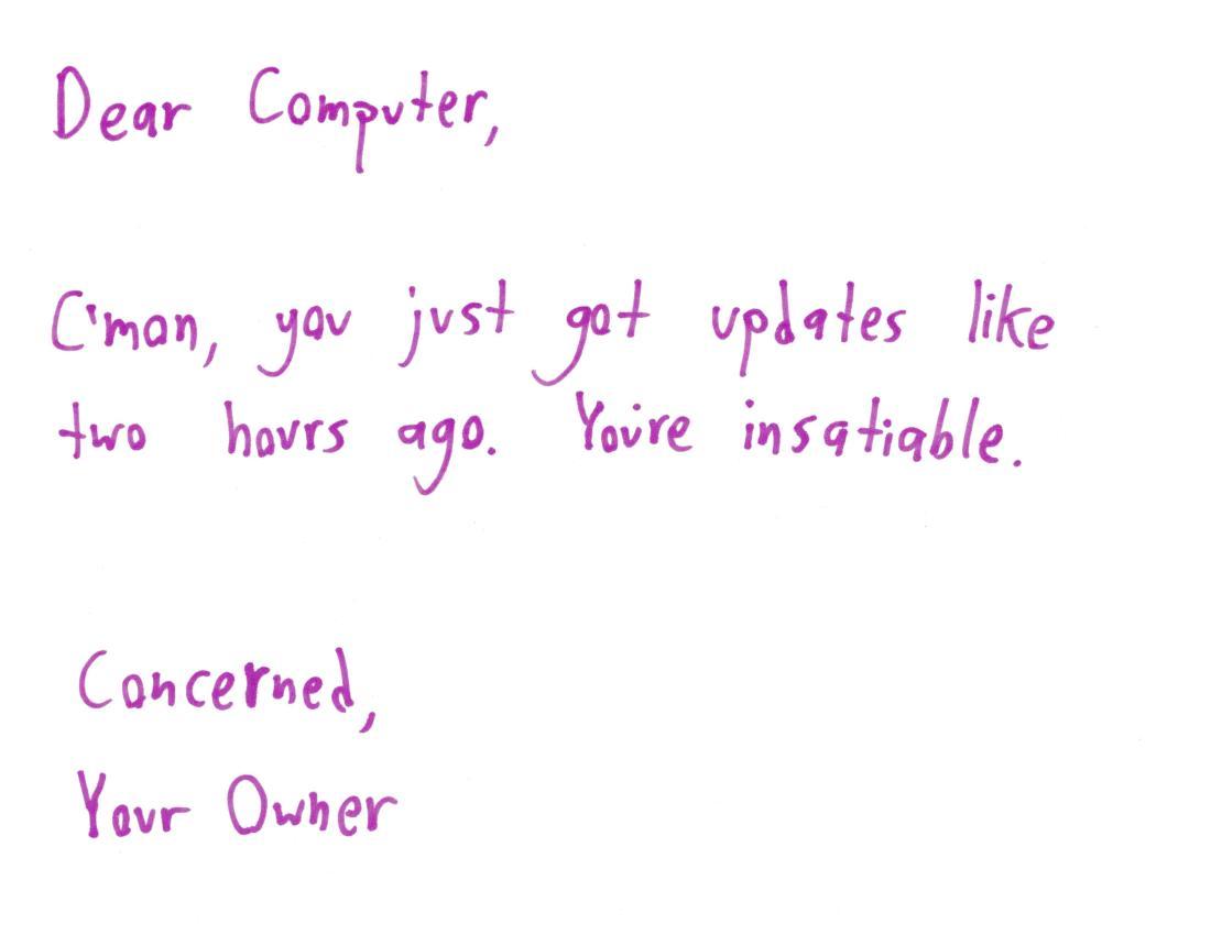 2017.10.5 computer updates