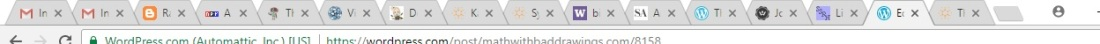 all my tabs
