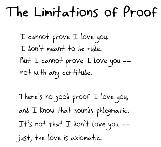 Love Poems For Mathematicians Math With Bad Drawings
